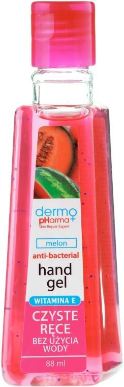 Antybakteryjny żel do higieny rąk Melon - Dermo Pharma Antibacterial Hand Gel