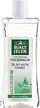Kup Żel do mycia twarzy do skóry wrażliwej i skłonnej do alergii - Biały Jeleń Codzienna pielęgnacja Łagodzenie