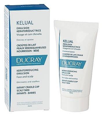 Emulsja do skóry podrażnionej i łuszczącej się - Ducray Kelual Emulsion Face & Scalp — фото N2