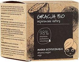 Kup Maska oczyszczająca do twarzy z węglem aktywnym - Gracja Bio