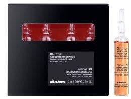 Kup Nawilżająca olejkowa kuracja do wszystkich rodzajów włosów - Davines Oi Absolute Hydration With Roucou Oil