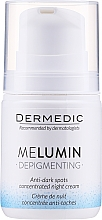 Kup Krem-koncentrat przeciw przebarwieniom na noc - Dermedic MeLumin Depigmenting