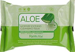 Kup Nawilżająco-kojące chusteczki nawilżane z aloesem - FarmStay Aloe Moisture Soothing Cleansing Tissue