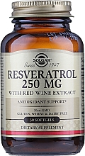 Kup Suplement diety Resweratrol - Solgar Resveratrol 250 Mg