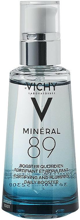 Hialuronowy booster wzmacniający barierę ochronną skóry - Vichy Mineral 89 Booster