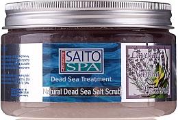 Kup Solny peeling do ciała Lawenda, wanilia i paczula - Saito Spa Aalt Body Scrub Lavenda&Vanilla