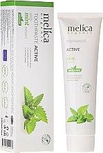 Kup Aktywna pasta do zębów z ekstraktem z mięty - Melica Organic