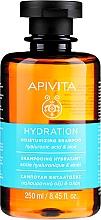 Kup Szampon nawilżający z kwasem hialuronowym i aloesem - Apivita Moisturizing Shampoo With Hyaluronic Acid & Aloe