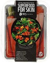 Kup Zestaw masek na tkaninie do skóry matowej i pozbawionej witalności - Superfood For Skin Dull And Devoid of Vitality Skin (7 x mask 25 ml)
