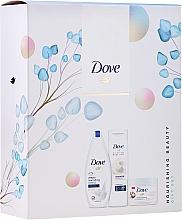 Kup Zestaw - Dove Nourishing Beauty III (sh/gel/250ml+b/lotion/250ml + b/scr/255ml)