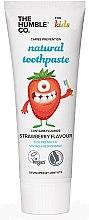 Kup Naturalna pasta do zębów dla dzieci o smaku truskawek - The Humble Co. Natural Toothpaste Kids Strawberry Flavor