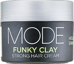 Kup Mocny krem do układania włosów - Affinage Salon Professional Mode Funky Clay