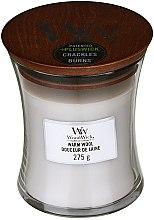 Kup Świeca zapachowa w szkle - WoodWick Hourglass Candle Warm Wool