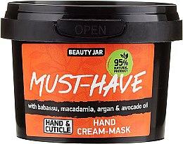 Kup Krem-maska do rąk z olejami babasu, makadamia, arganowym i z awokado - Beauty Jar Must-Have