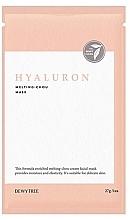 Kup Hialuronowa maska do twarzy - Dewytree Hyaluron Melting Chou Mask