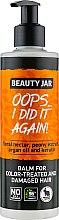 Kup Balsam do włosów farbowanych i zniszczonych - Beauty Jar Oops... I Did It Again