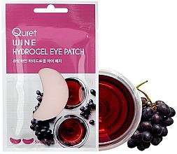 Kup Hydrożelowe płatki pod oczy - Quret Wine Hydrogel Eye Patch