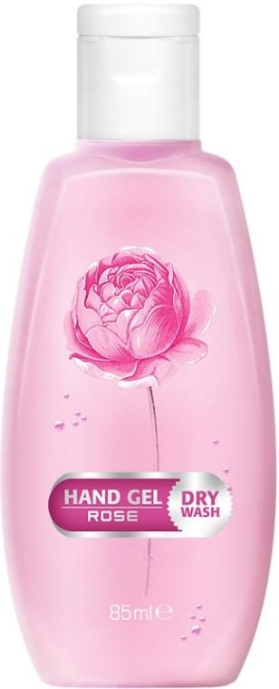 Żel do suchego mycia rąk Róża - Bulgarian Rose Dry Wash Rose Hand Gel — фото N1