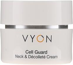 Kup Odmładzający krem do szyi i dekoltu - Vyon Cell Guard Neck and Dekollete Cream
