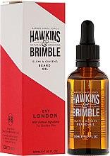 Kup Olejek do brody - Hawkins & Brimble Elemi & Ginseng Beard Oil