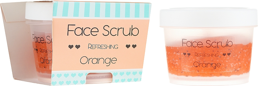 Odświeżający peeling do twarzy i ust Pomarańcza - Nacomi