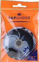 Kup Dwustronne lusterko kosmetyczne 5565 Czarno-szare - Top Choice