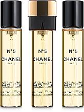 Chanel N°5 - Woda toaletowa (purse spray + dwa wymienne wkłady) — фото N2