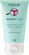 Kup Glinka myjąca 2 w 1 do cery tłustej i mieszanej - Floslek Balance T-Zone