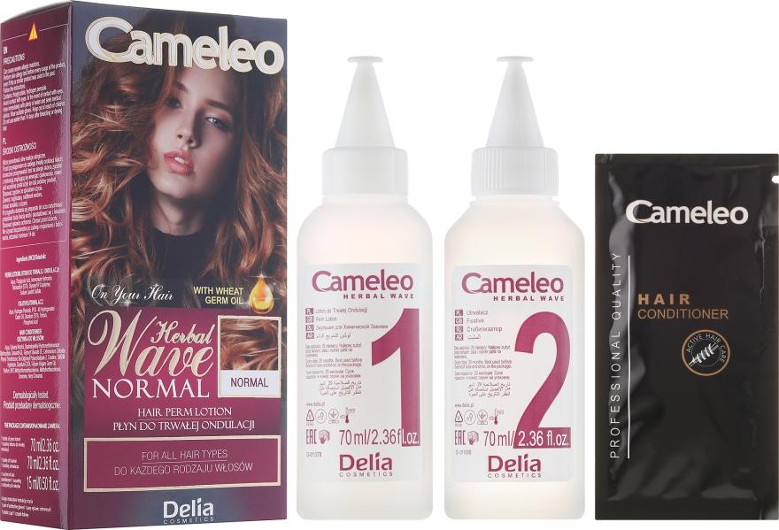 Płyn do trwałej ondulacji do każdego rodzaju włosów - Delia Cameleo