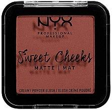 Kup Kremowo-pudrowy matowy róż do policzków - NYX Professional Makeup Sweet Cheeks Matte Creamy Powder Blush