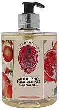 Kup Mydło w płynie Granat - La Florentina Pomegranate Liquid Soap