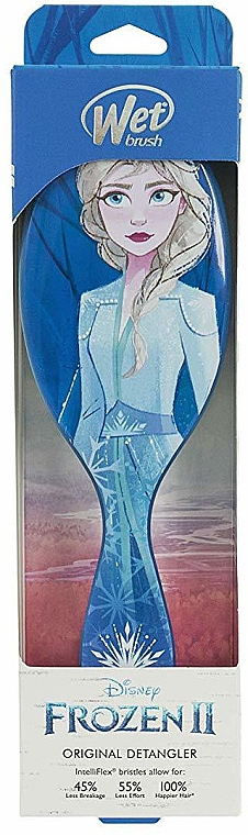Szczotka do włosów - Wet Brush Disney Frozen II Elsa Original Detangler — фото N1