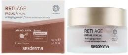 Kup Przeciwstarzeniowy krem z retinolem do cery suchej - SesDerma Laboratories Reti Age Facial Antiaging Cream 3-Retinol System