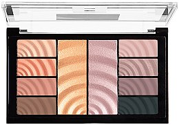 Paleta do makijażu - Maybelline Total Temptation Eyeshadow + Highlight Palette — фото N3