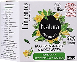 Kup Krem-maska naprawcza do twarzy - Lirene Natura Fermenty Eco Night Cream-Mask