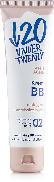 Matująco-antybakteryjny krem BB - Under Twenty Anti Acne Mattifying BB Cream