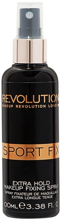 Utrwalacz makijażu - Makeup Revolution Sport Fix Makeup Extra Hold Fixing Spray