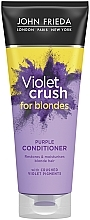 Kup Odbudowująca odżywka odnawiająca kolor włosów farbowanych - John Frieda Sheer Blonde Colour Renew Tone-Correcting Conditioner