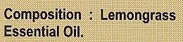 Olejek z trawy cytrynowej - Sattva Ayurveda Aromatherapy Lemongrass Essential Oil — фото N4