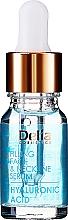 Kup Intensywne serum przeciwzmarszczkowe do twarzy i szyi z kwasem hialuronowym - Delia Face Care Hyaluronic Acid Face Neckline Intensive Serum