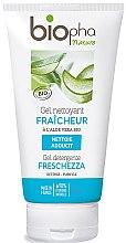 Kup Odświeżający żel oczyszczający do twarzy z aloesem - Biopha Nature Gel Detergente Freschezza