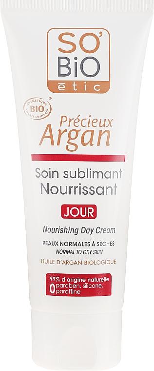 Odżywczy krem do twarzy na dzień - So'Bio Etic Nourishing Day Cream — фото N2