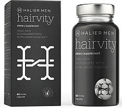 Kup Kapsułki przeciw wypadaniu włosów dla mężczyzn - Halier Men Hairvity Hair Vitamins Anti Hair Loss