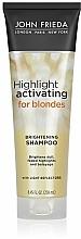 Kup Nawilżający szampon do jasnych włosów blond - John Frieda Sheer Blonde Highlight Activating