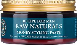 Kup Pasta do stylizacji włosów - Recipe For Men RAW Naturals Money Styling Paste