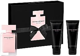 Kup Narciso Rodriguez For Her - Zestaw (edt 50 ml + b/lot 75 ml + sh/gel 75 ml)