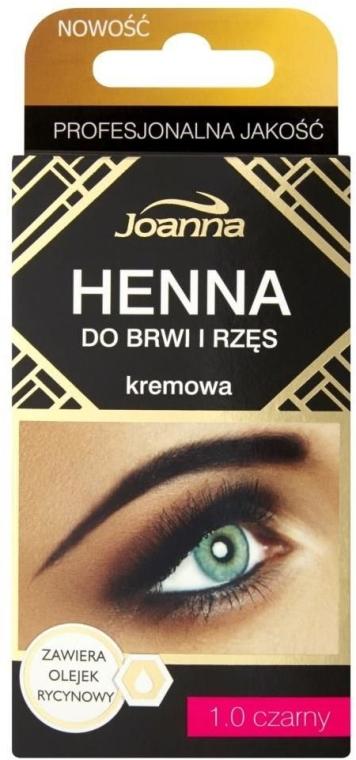 Kremowa henna do brwi i rzęs - Joanna