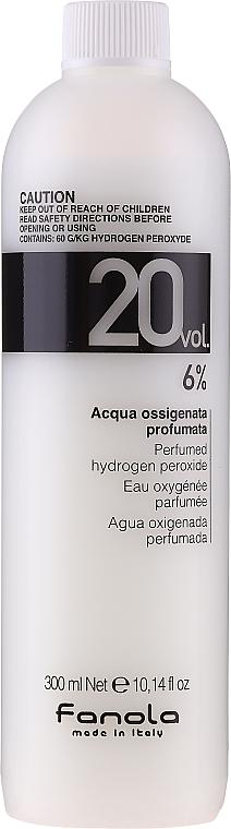 Emulsja utleniająca - Fanola Acqua Ossigenata Perfumed Hydrogen Peroxide Hair Oxidant 20vol 6%
