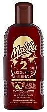 Kup Brązujące masło do ciała - Malibu Bronzing Tanning Oil SPF 2