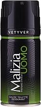 Kup Mirato Malizia Uomo Vetiver - Perfumowany dezodorant w sprayu dla mężczyzn